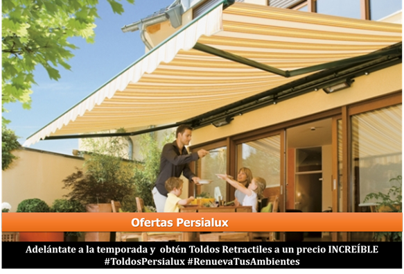 Oferta Toldos Retractiles Of Descuentos En Toldos Retractiles Persialux